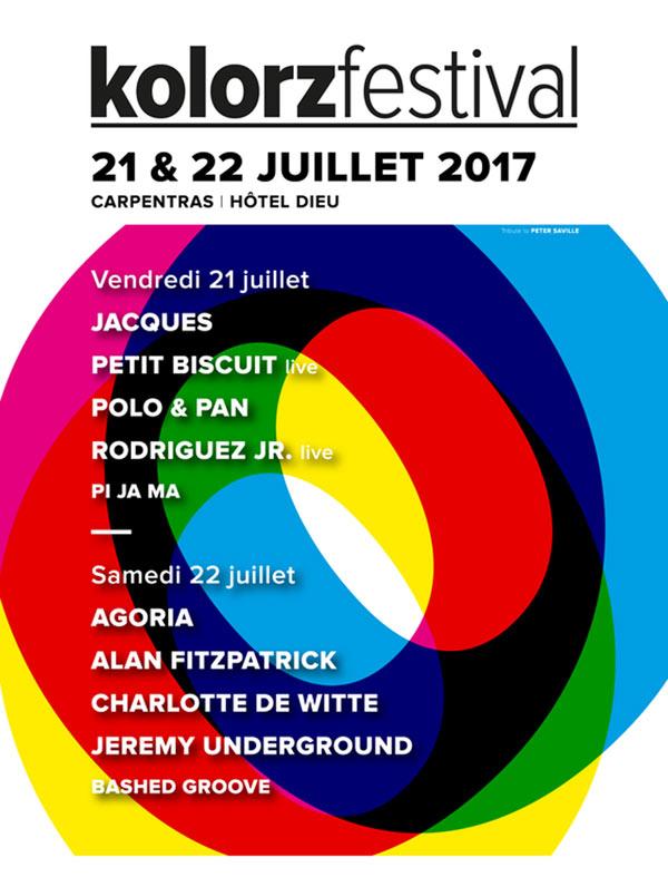 Festival Kolorz été 2017