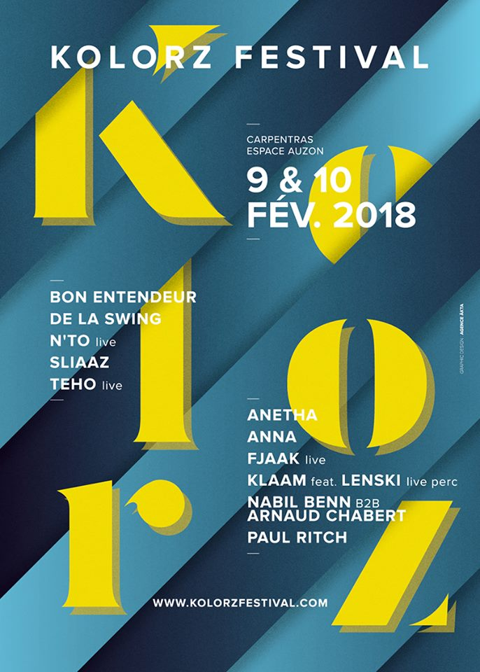 Festival Kolorz hiver 2018